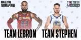 ЛеБрон і Каррі вибрали склади команд на Матч зірок НБА
