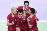Італія і Сербія зіграли внічию в матчі Євро-2018 з футзалу