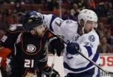 НХЛ: Тампа-Бэй проиграл Анахайм, Лос-Анджелес в овертайме вырвал победу из Ванкувера