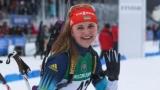 Биатлон: Украинки jouer avec выиграла серебро на Кубке IBU